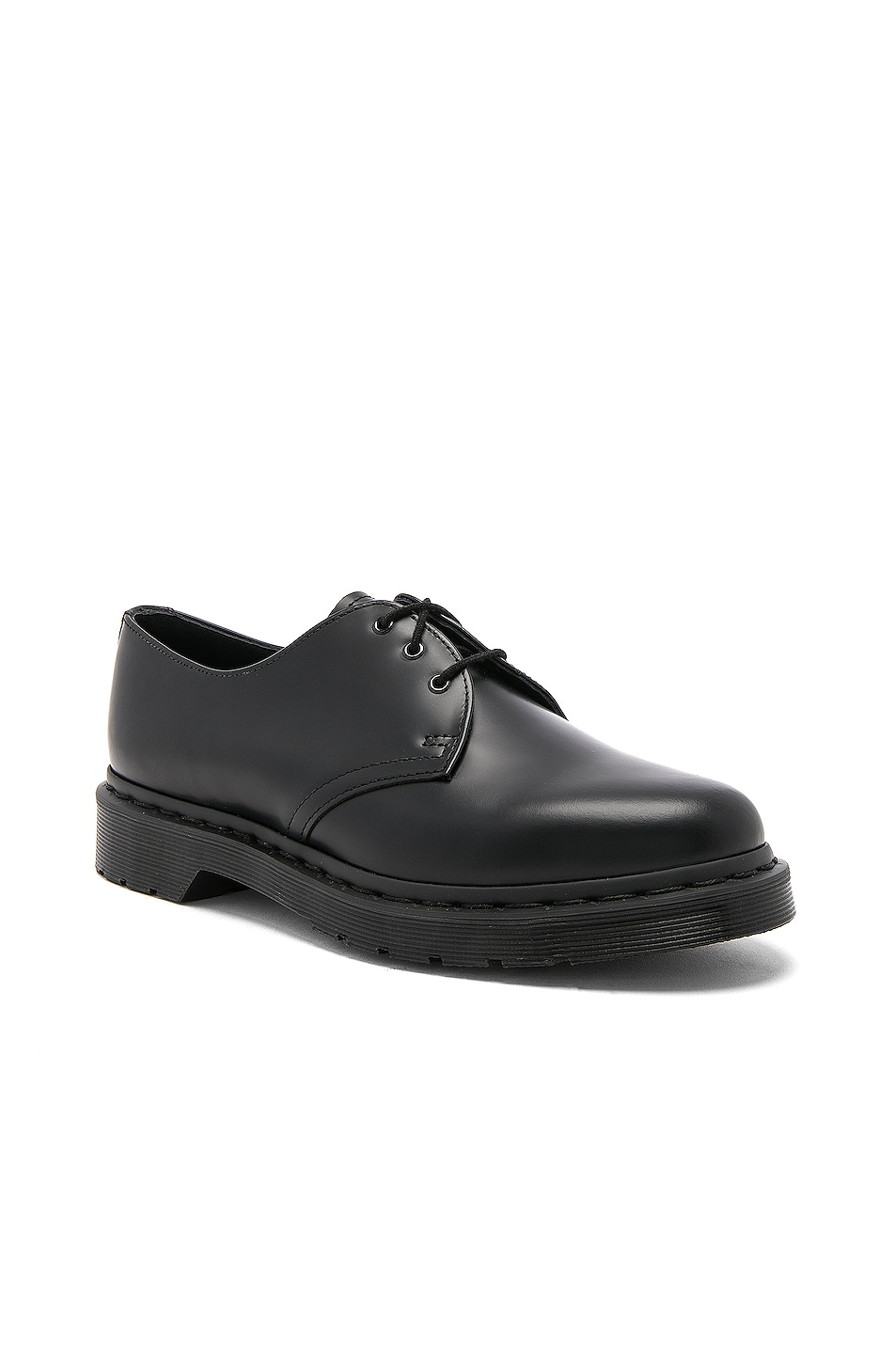 Image 2 of Dr. Martens 1461 3 Eye Gibson in Black Mono