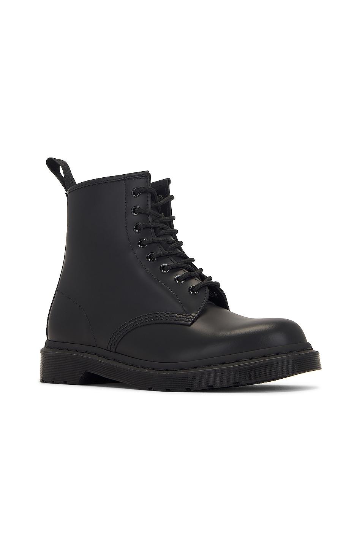 Image 2 of Dr. Martens 1460 8-Eye Mono Boot in Black Mono