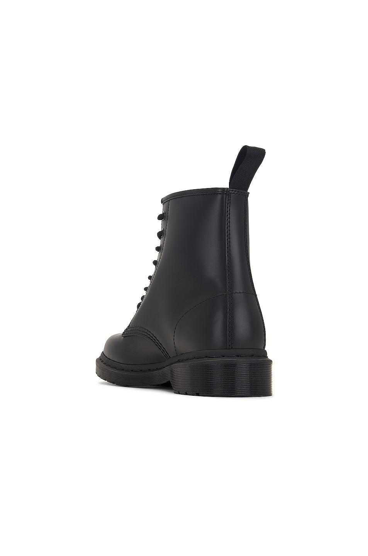 Image 3 of Dr. Martens 1460 8-Eye Mono Boot in Black Mono