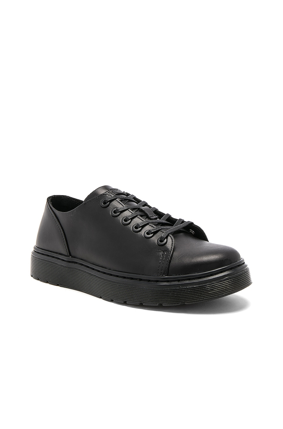 Image 2 of Dr. Martens Dante 6 Eye Leather Shoes in Black