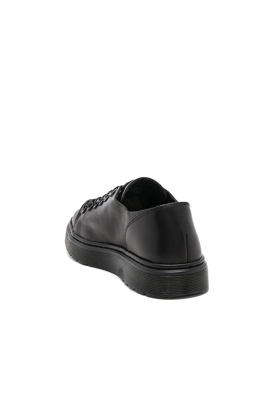 Image 3 of Dr. Martens Dante 6 Eye Leather Shoes in Black