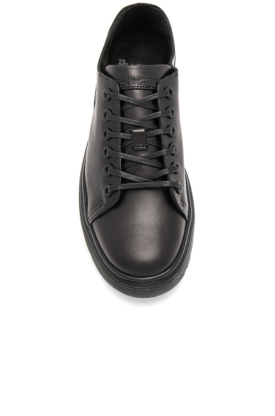 Image 4 of Dr. Martens Dante 6 Eye Leather Shoes in Black