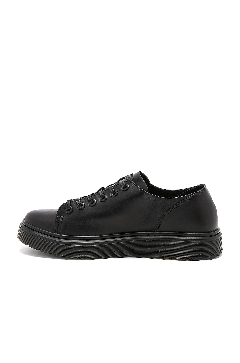 Image 5 of Dr. Martens Dante 6 Eye Leather Shoes in Black