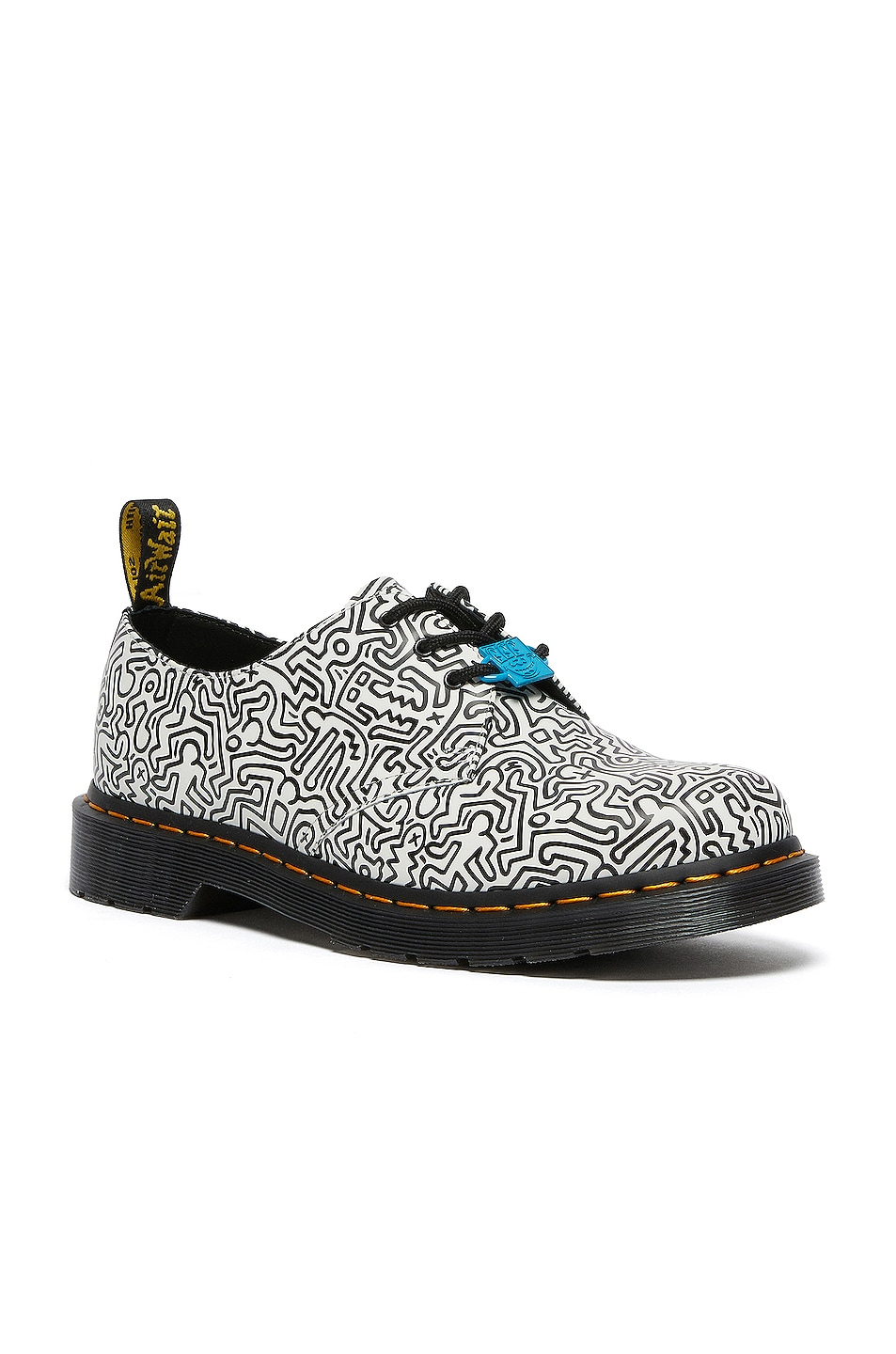 Image 1 of Dr. Martens 1461 Keith Haring in White