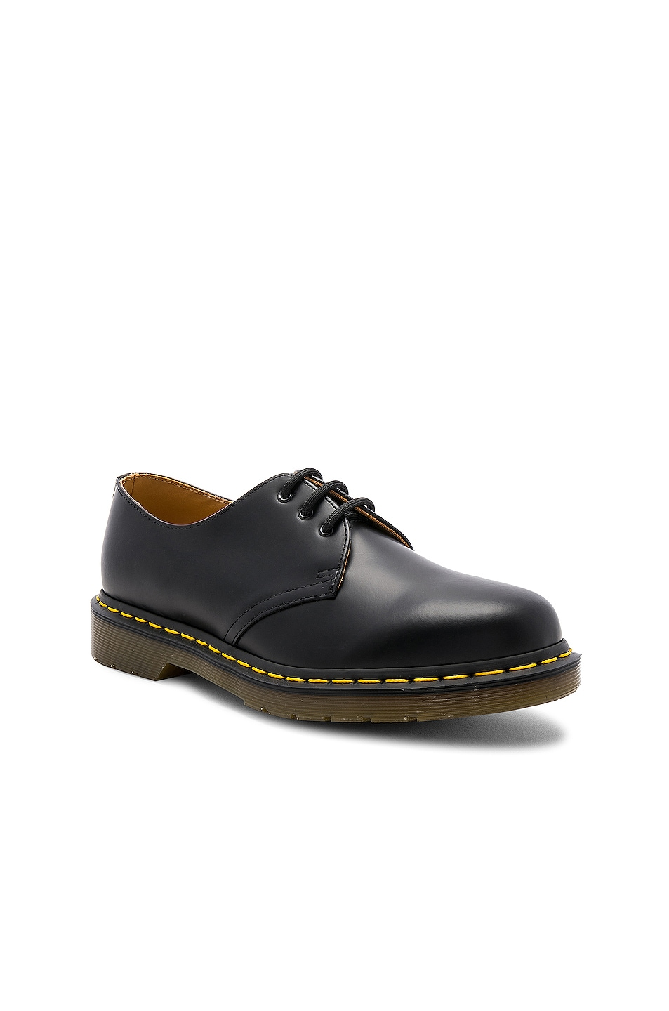 Image 2 of Dr. Martens 1461 3 Eye Gibson in Black