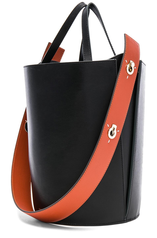 c9ae9cd3a260b Image 4 of Danse Lente Mini Lorna Bag in Black   Terracotta