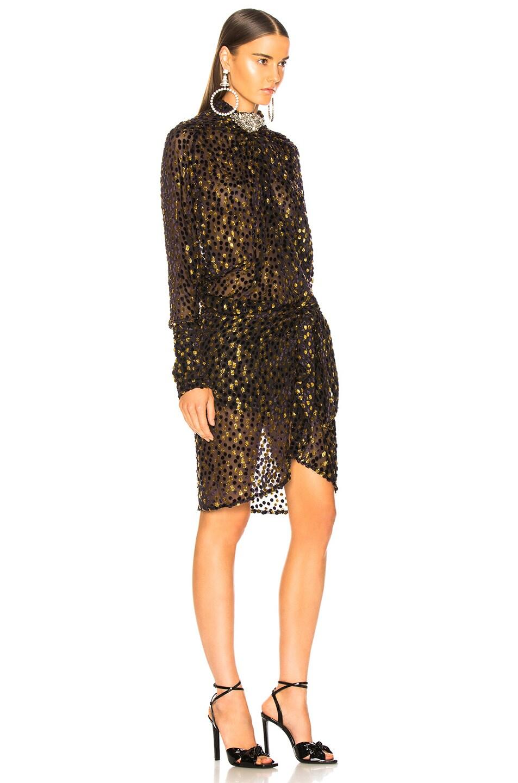 Image 2 of Dodo Bar Or Ida Dress in Purple & Gold