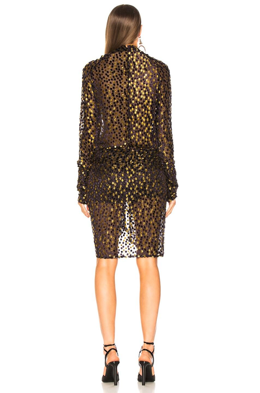 Image 4 of Dodo Bar Or Ida Dress in Purple & Gold
