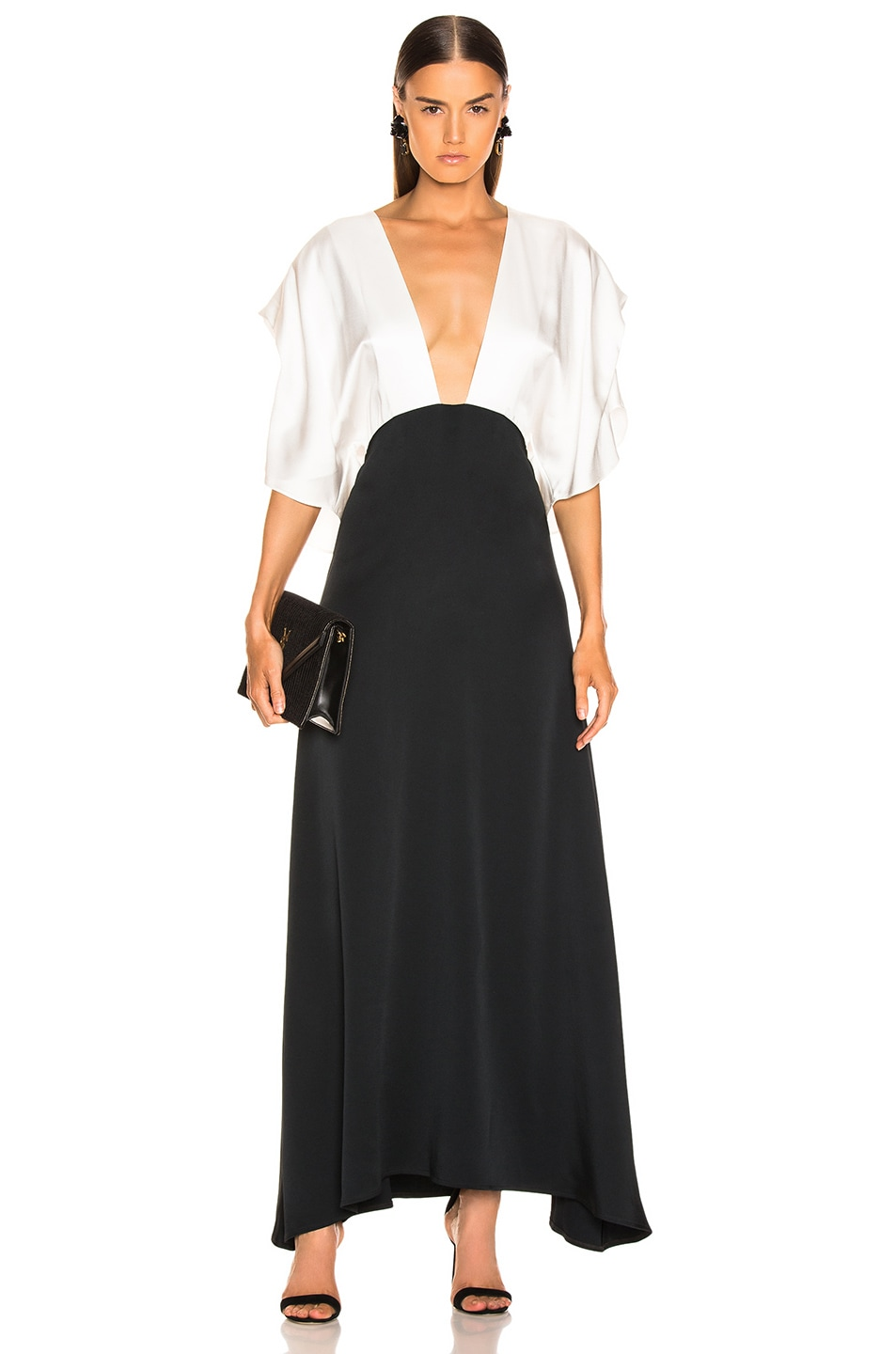 Image 1 of Dodo Bar Or Byon Long Dress in Black & White
