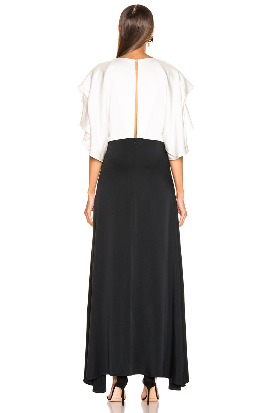 Image 3 of Dodo Bar Or Byon Long Dress in Black & White