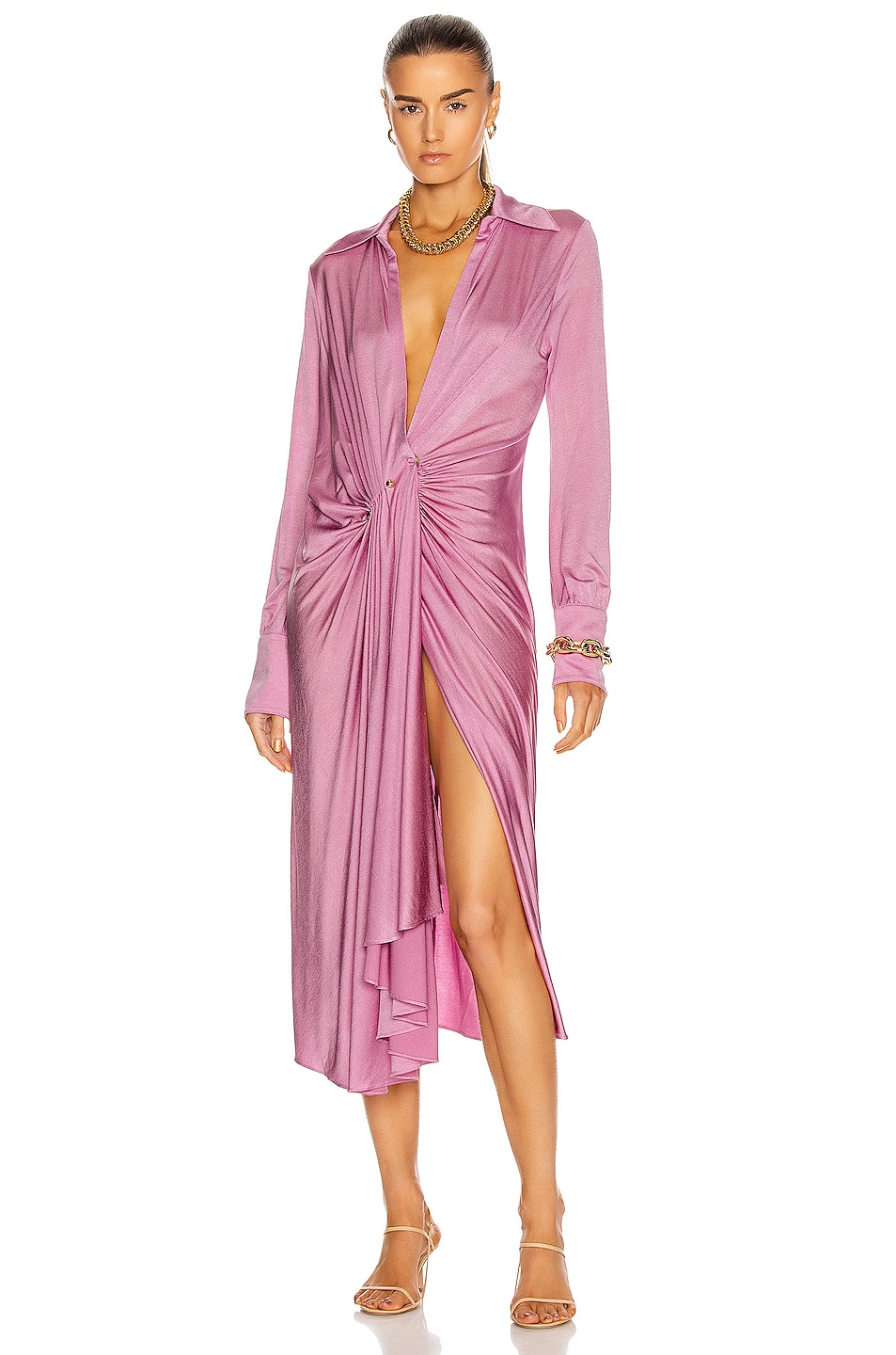 Image 1 of Dodo Bar Or Lorenne Dress in Lilac