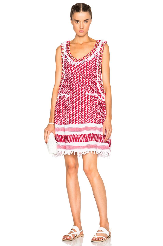 Image 1 of Dodo Bar Or Fatima Dress in Red