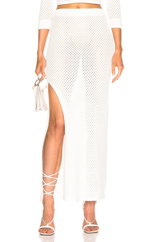 Image 1 of Dodo Bar Or Maggie Skirt in White