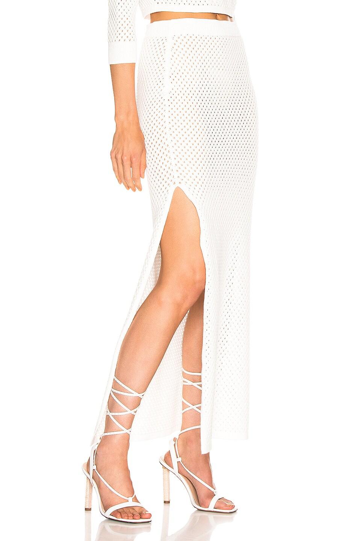 Image 2 of Dodo Bar Or Maggie Skirt in White