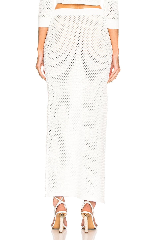 Image 4 of Dodo Bar Or Maggie Skirt in White