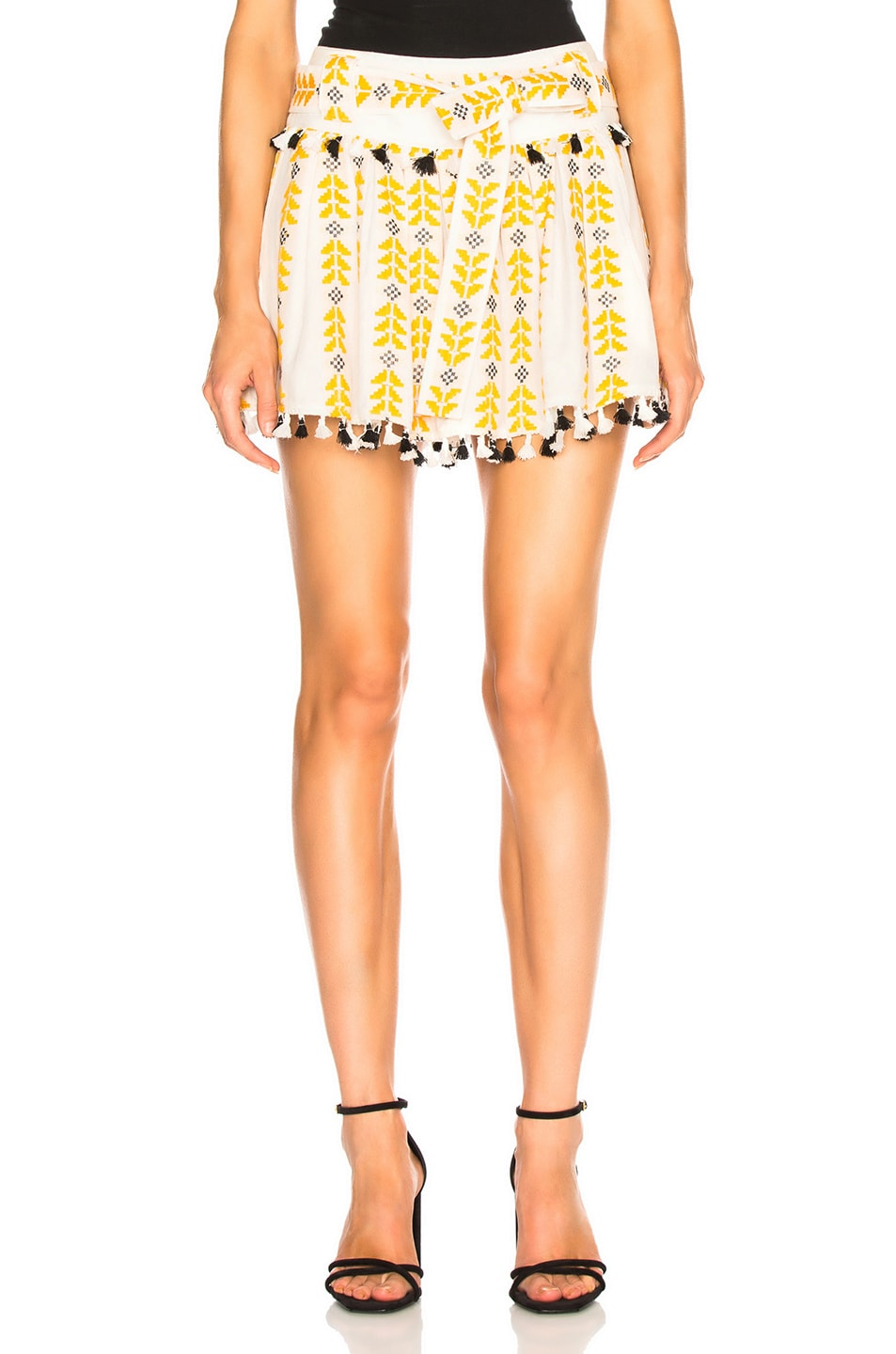 Image 1 of Dodo Bar Or Ariana Mini Skirt in Mustered