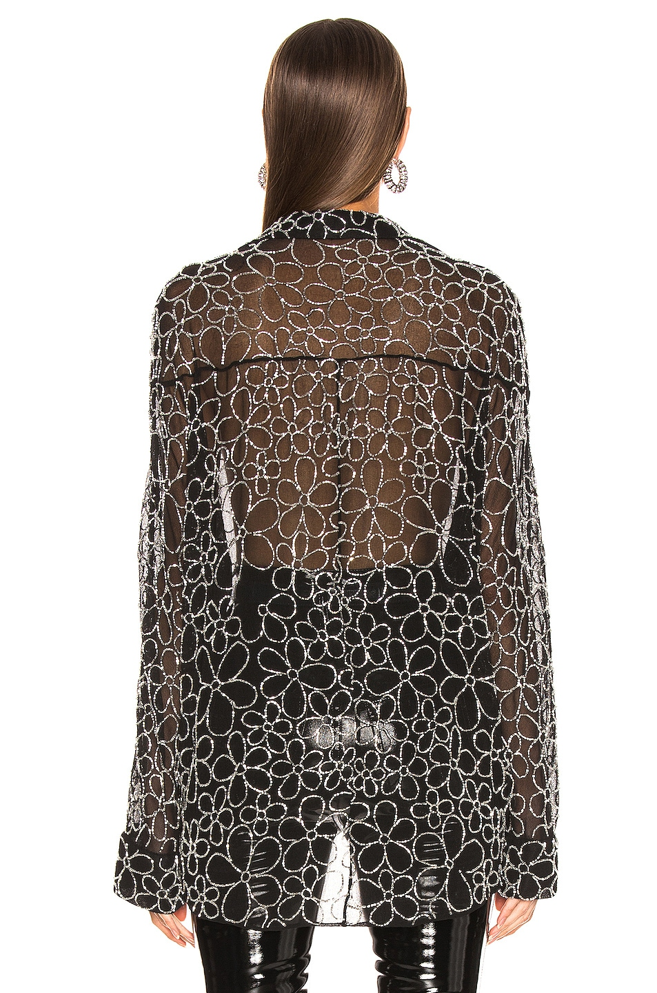 Image 4 of Dodo Bar Or Neomie Embroidered Top in Black