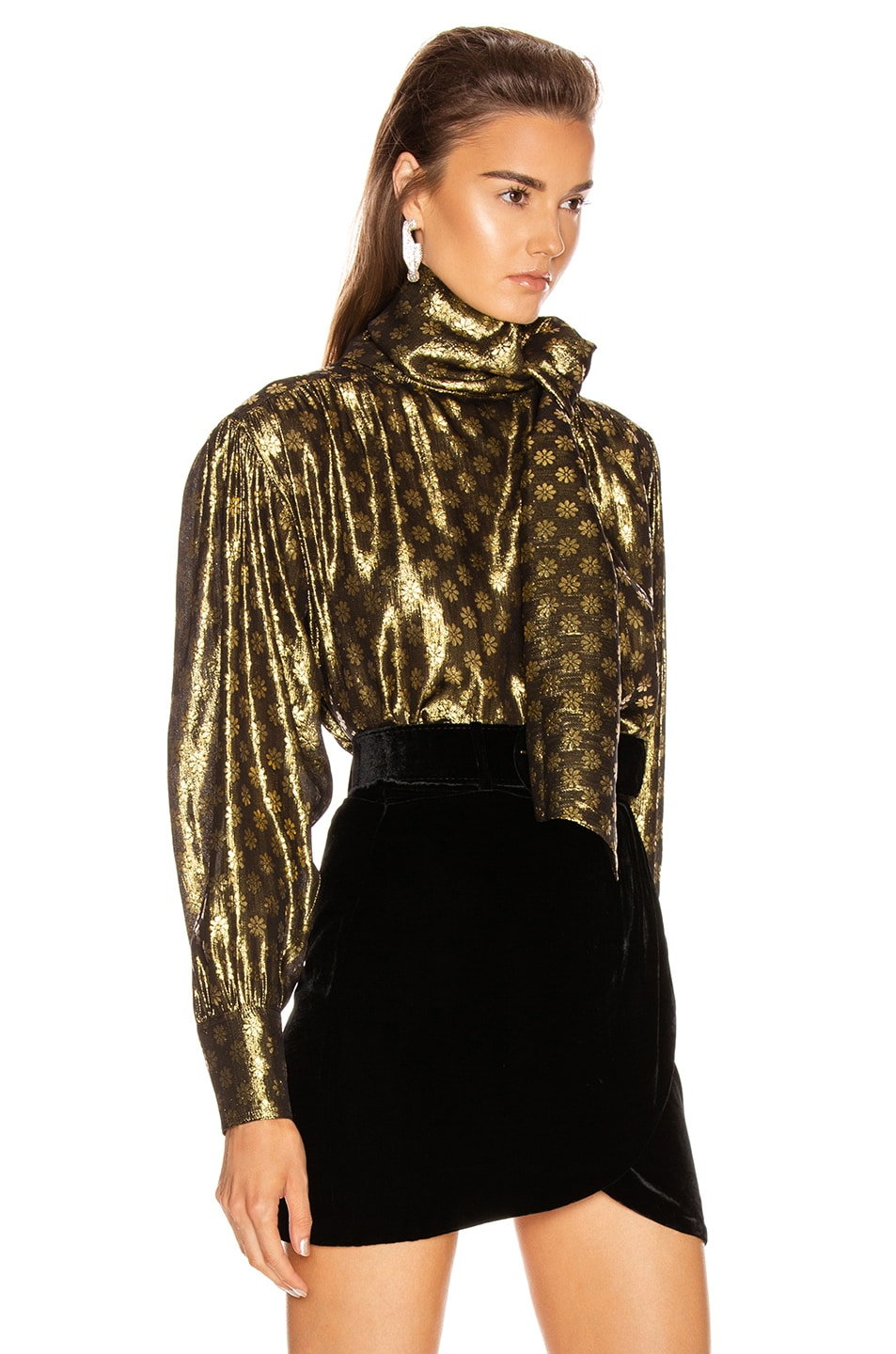 Image 2 of Dodo Bar Or Kelly Lurex Top in Gold