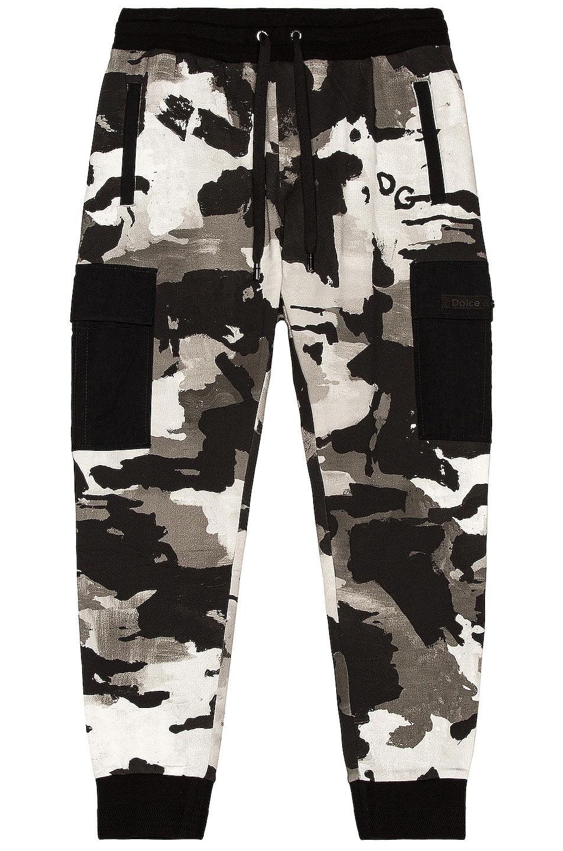 Image 1 of Dolce & Gabbana Cargo Pant in Black