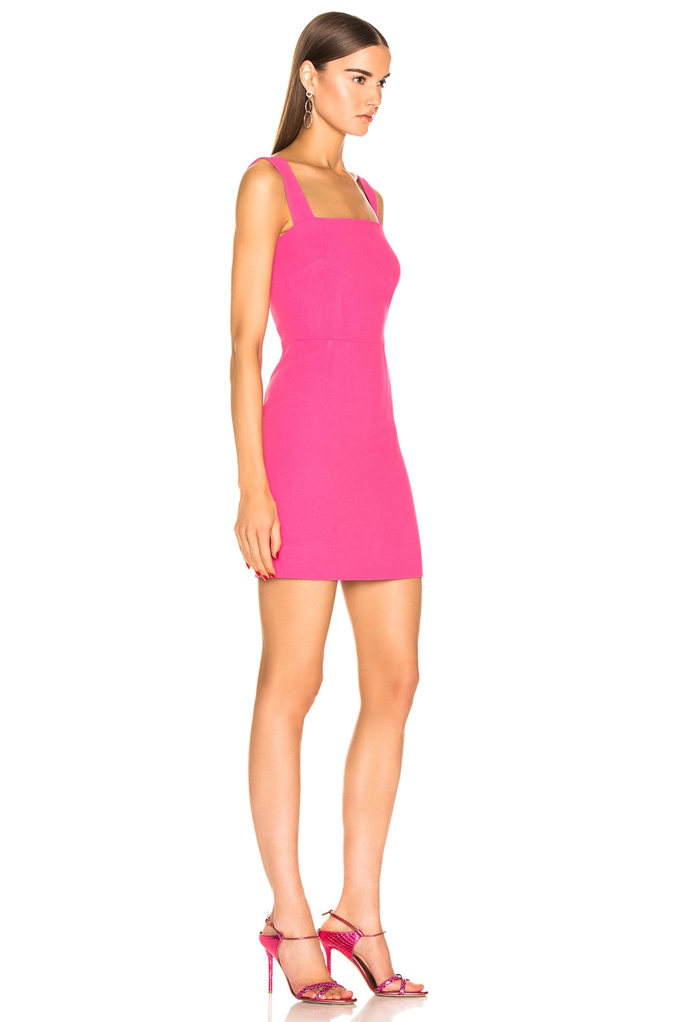 Image 2 of Dolce & Gabbana Cady Sleeveless Dress in Pink