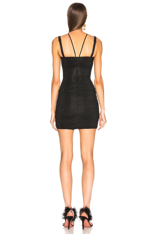 Image 3 of Dolce & Gabbana Cutout Mini Dress in Black
