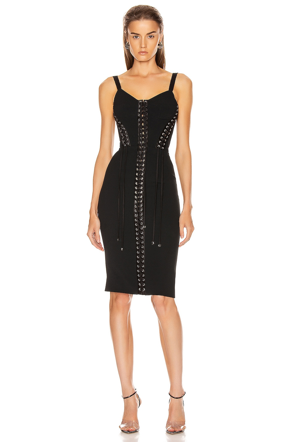 Image 1 of Dolce & Gabbana Bodycon Dress in Black