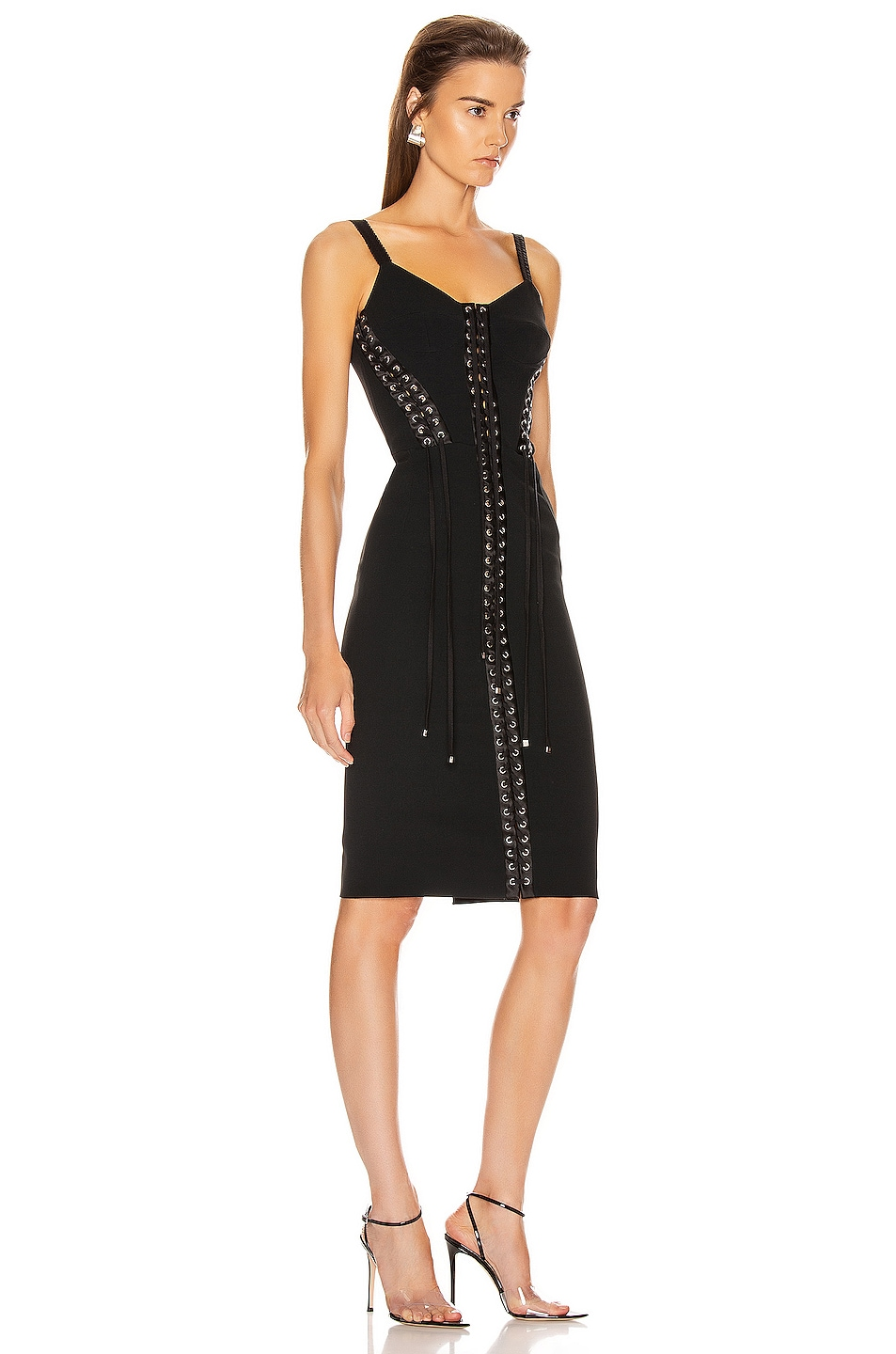 Image 2 of Dolce & Gabbana Bodycon Dress in Black