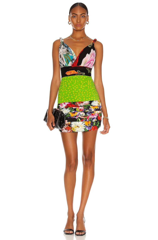 Image 1 of Dolce & Gabbana Mini Tubino Dress in Multi