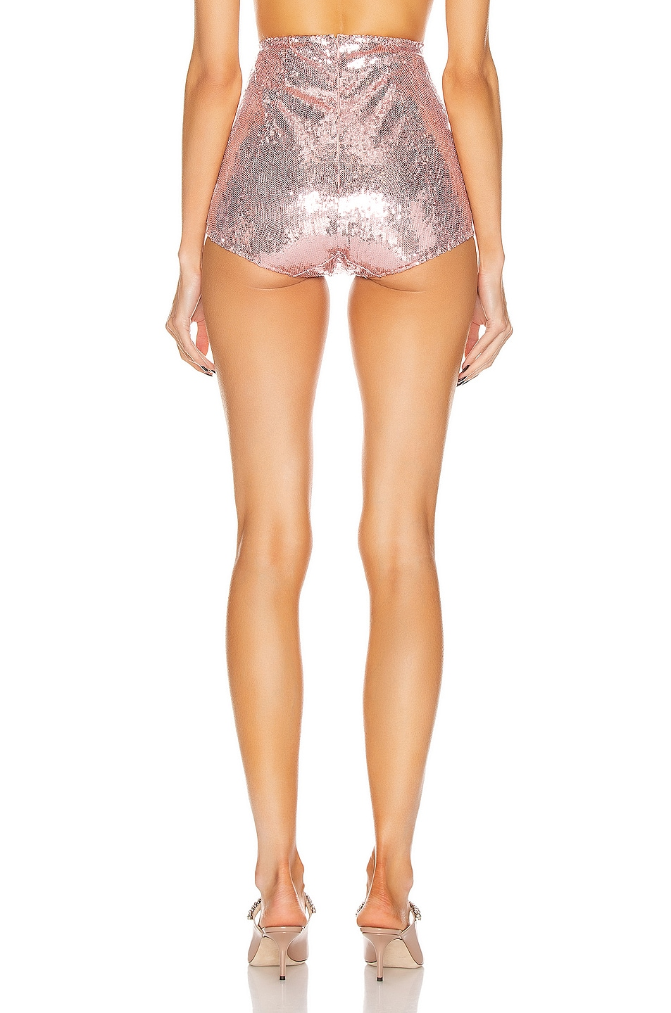 Image 3 of Dolce & Gabbana High Waisted Bottom in Light Powder Rose