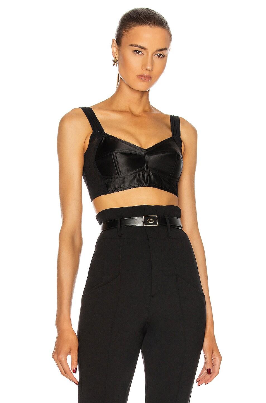 Image 1 of Dolce & Gabbana Bra Top in Black