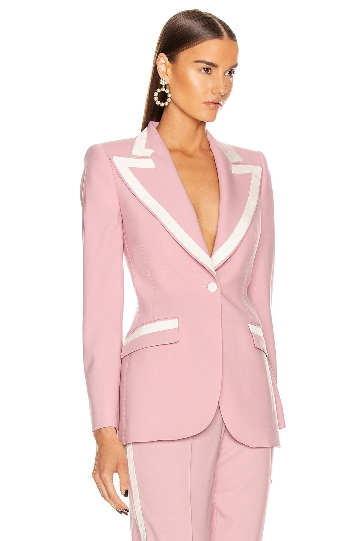 Image 2 of Dolce & Gabbana Tailored Blazer in Light Powder Rose