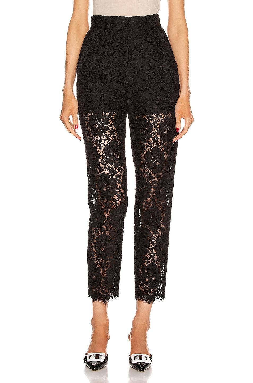 Image 1 of Dolce & Gabbana Skinny Pant in Black