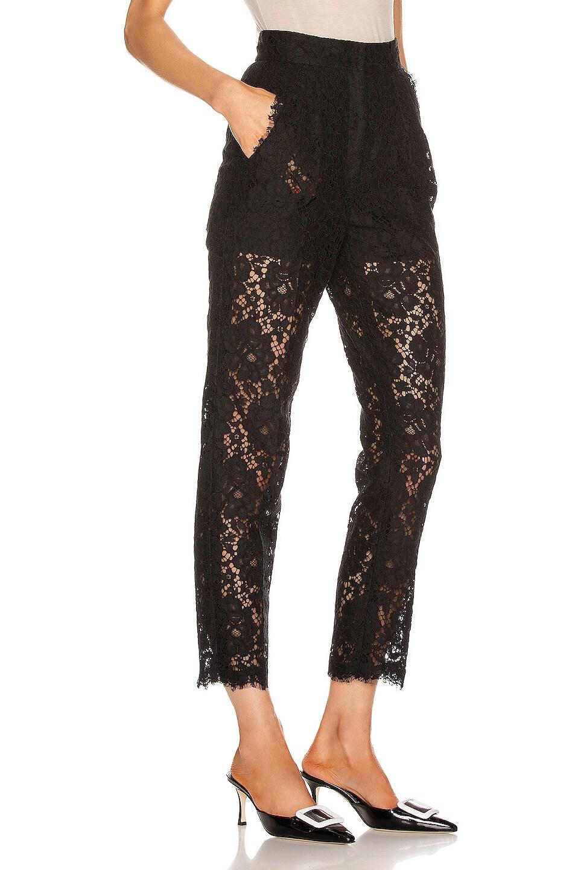 Image 2 of Dolce & Gabbana Skinny Pant in Black