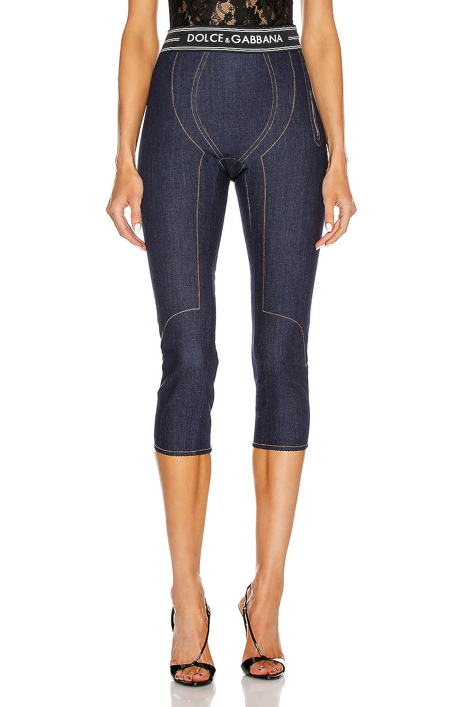 Image 1 of Dolce & Gabbana Tailored Pant in Dark Blue