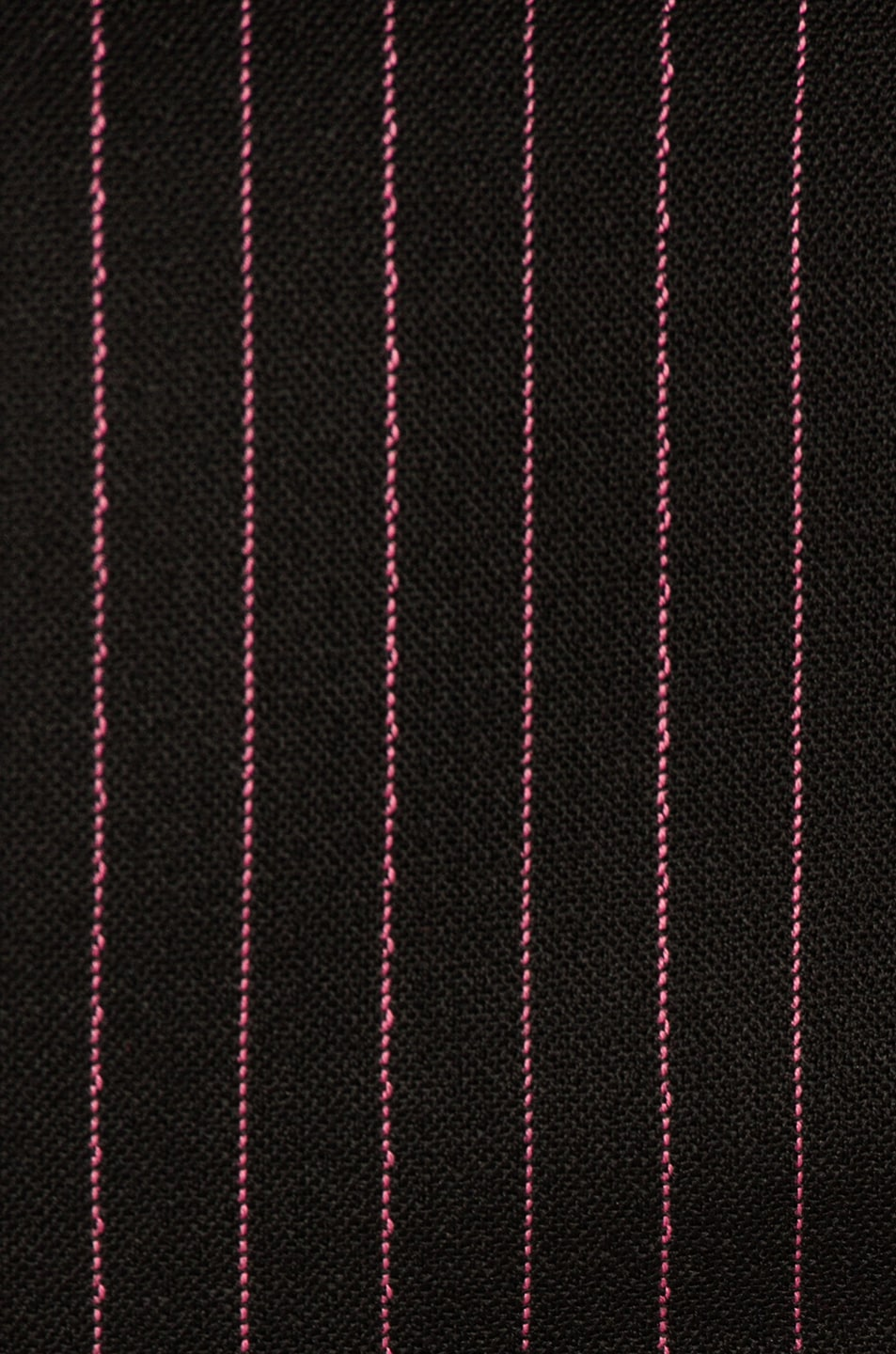 Image 5 of Dolce & Gabbana Pinstripe High Waisted Trousers in Black & Pink