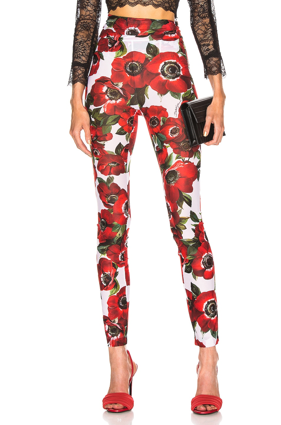 Image 1 of Dolce & Gabbana Floral Pant in Multi