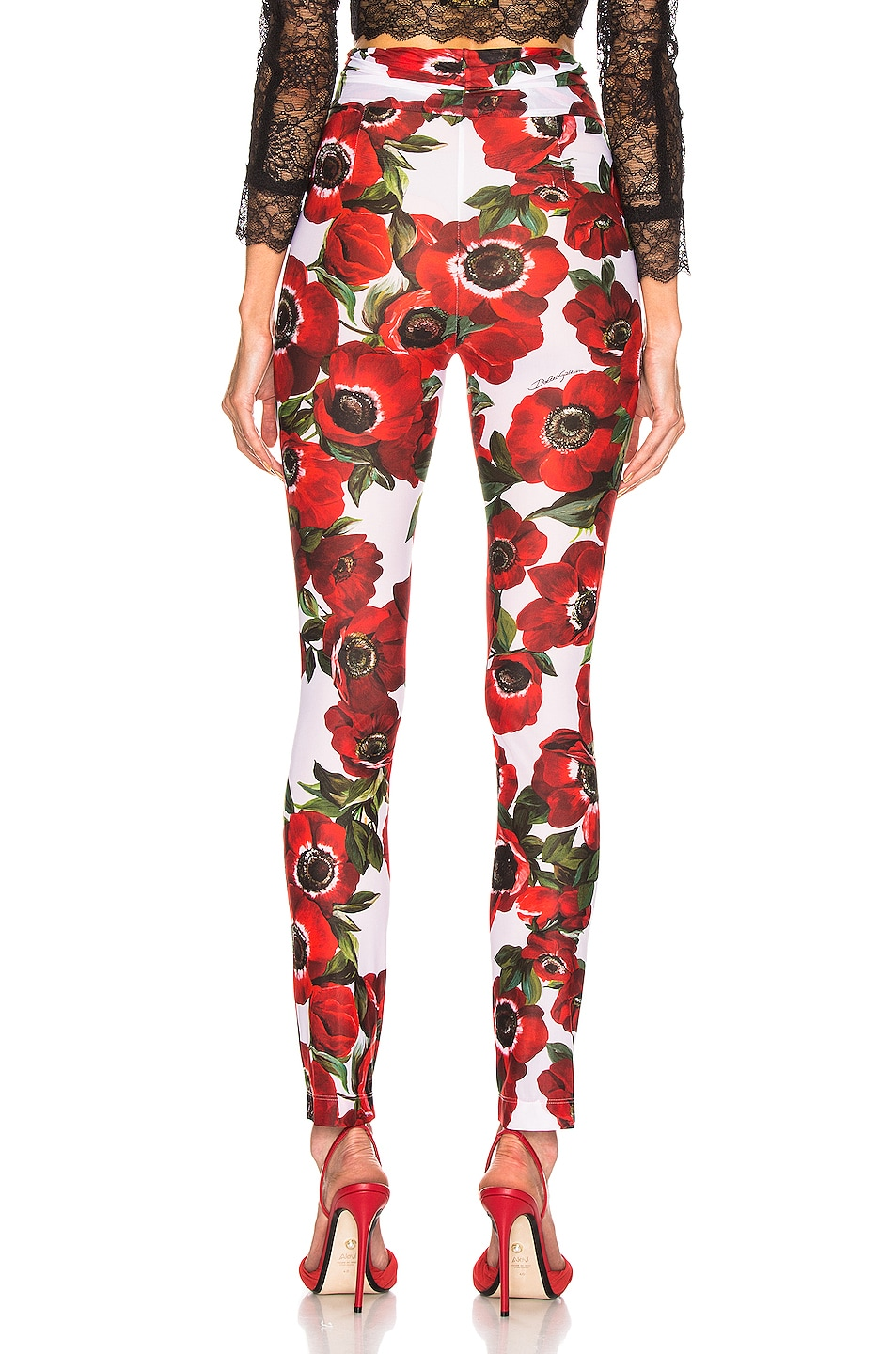 Image 3 of Dolce & Gabbana Floral Pant in Multi