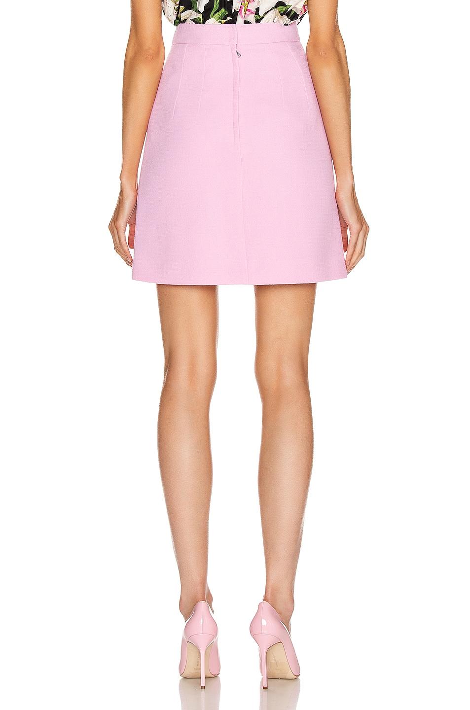 Image 3 of Dolce & Gabbana Embellished Rosa Skirt in Light Pink