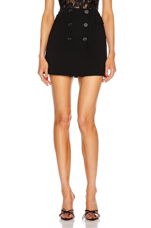 Image 1 of Dolce & Gabbana Mini Skirt in Black