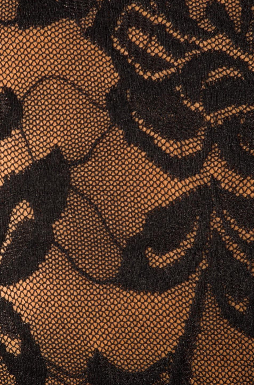 Image 6 of Dolce & Gabbana Lace Turtleneck in Black