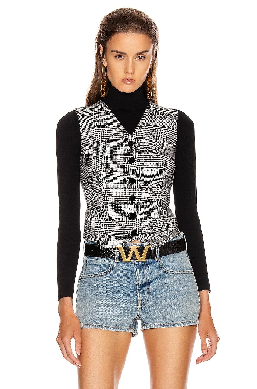 Image 1 of Dolce & Gabbana Check Vest Top in Grey