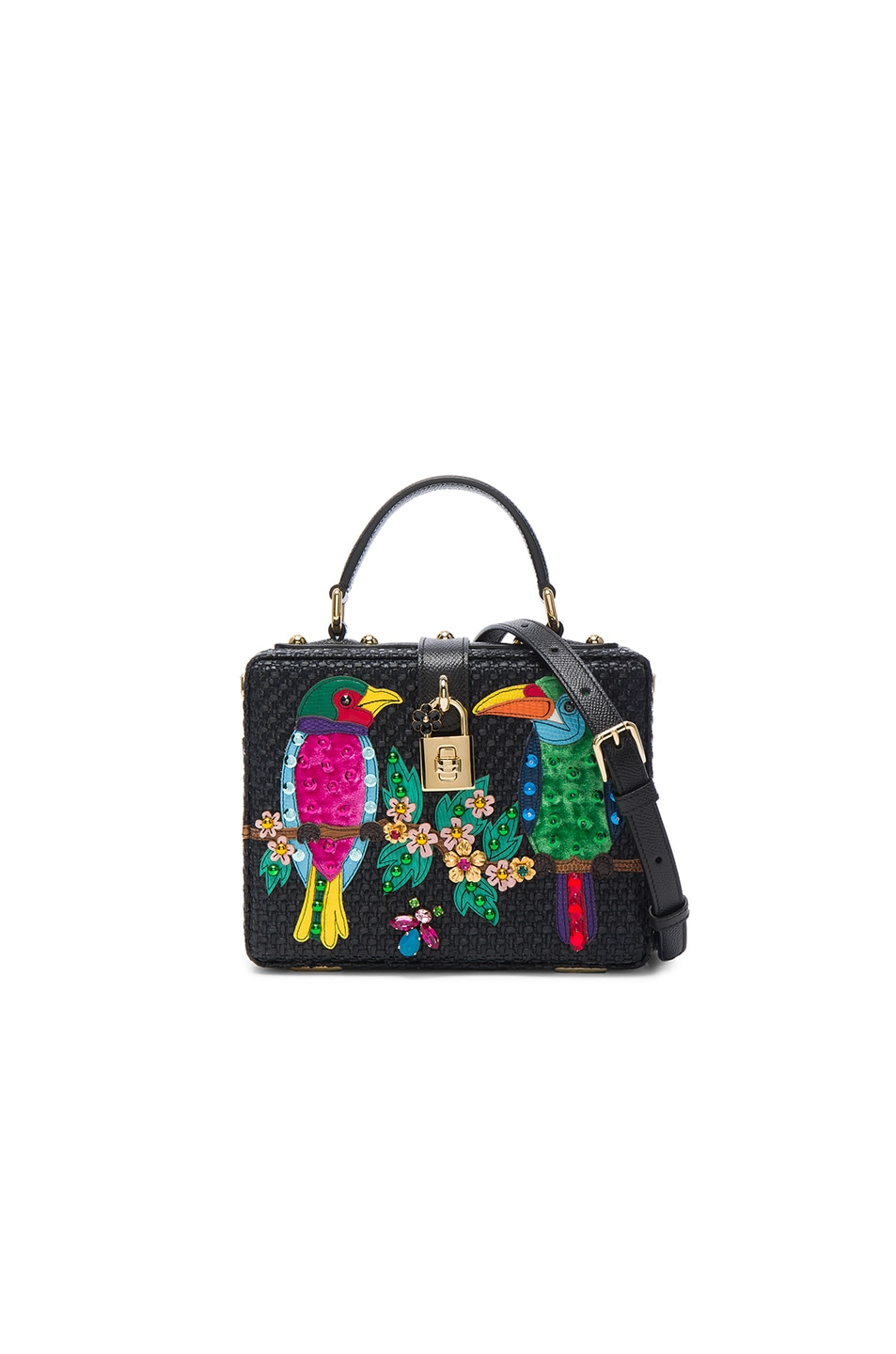 Image 1 of Dolce & Gabbana Top Handle Bag in Black Multi