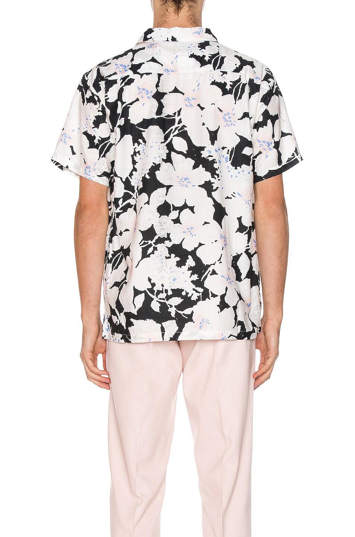 Image 3 of DOUBLE RAINBOUU Hawaiian Shirt in Cloud Control White