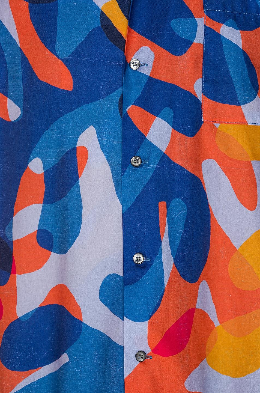 Image 5 of DOUBLE RAINBOUU Hawaiian Shirt in Balearic Beat