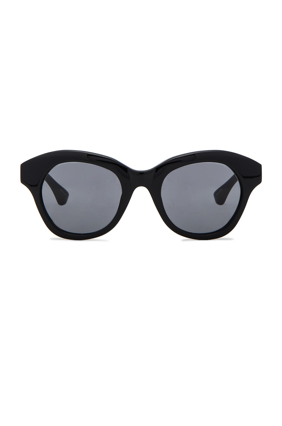 Image 1 of Dries Van Noten Sunglasses in Black