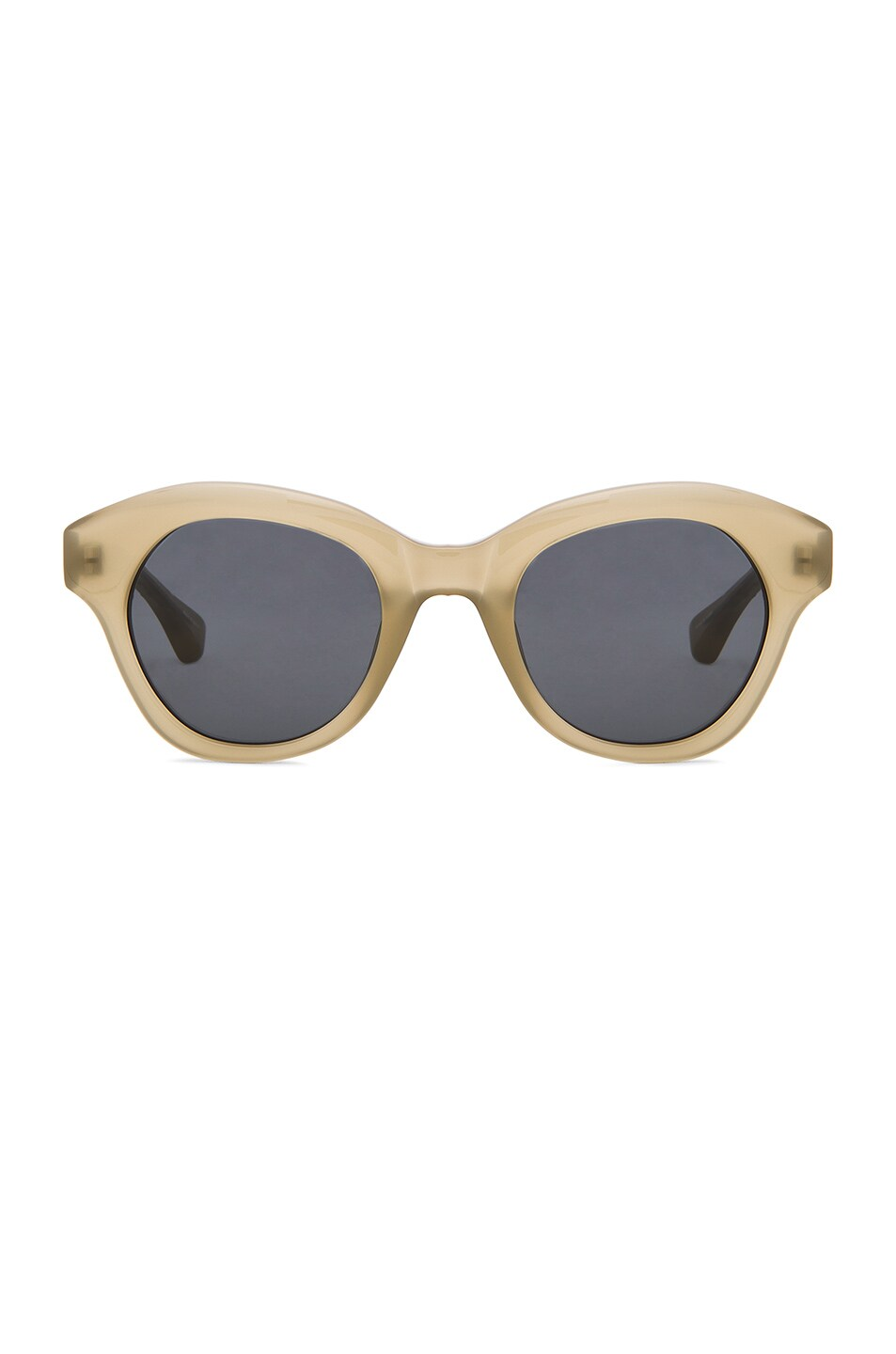 Image 1 of Dries Van Noten Sunglasses in Khaki