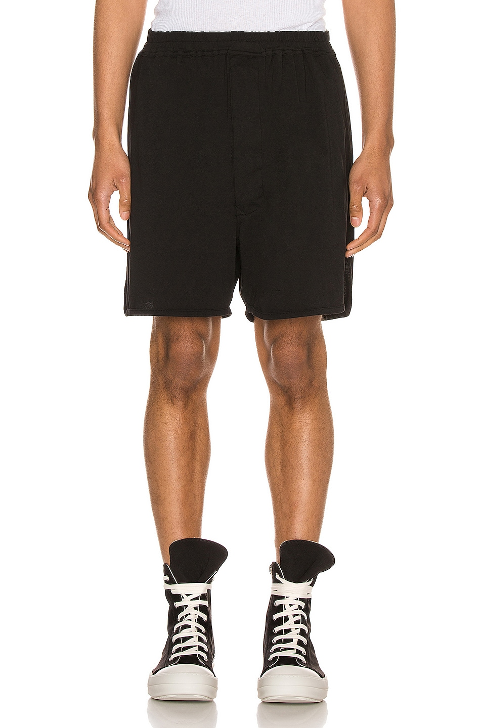 Image 1 of DRKSHDW by Rick Owens Dolphin Boxer Short in Black