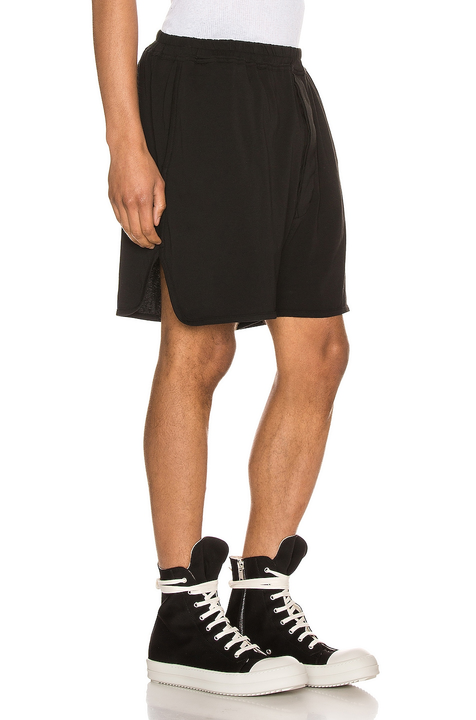 Image 2 of DRKSHDW by Rick Owens Dolphin Boxer Short in Black