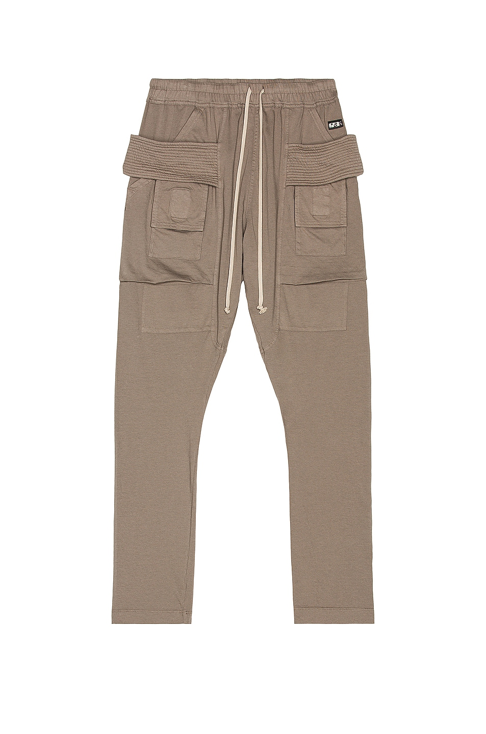 Image 1 of DRKSHDW by Rick Owens Creatch Cargo Drawstring in Dust