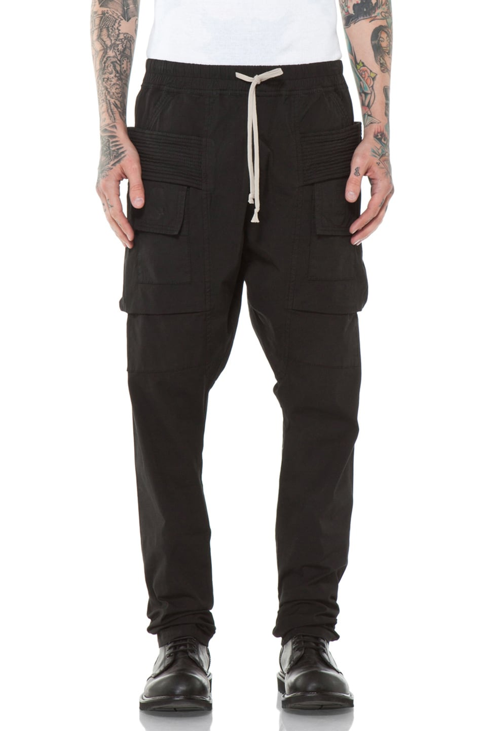 3bf5a8787979 Image 1 of DRKSHDW by Rick Owens Cargo Pant in Black